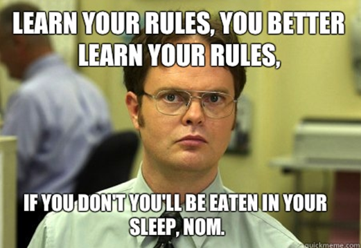 learn your rules