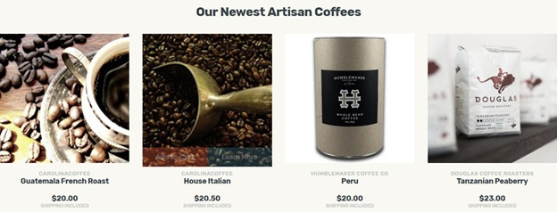 Our Newest Artisan Coffee
